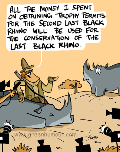 trophy hunting black rhinos copy