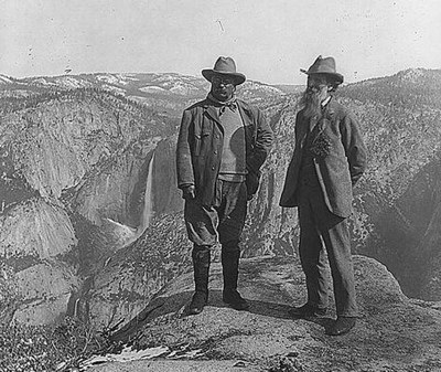 TR and John Muir